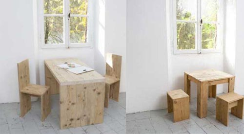 Katrin arens escarabajos bichos y mariposas for Mesa y sillas ninos