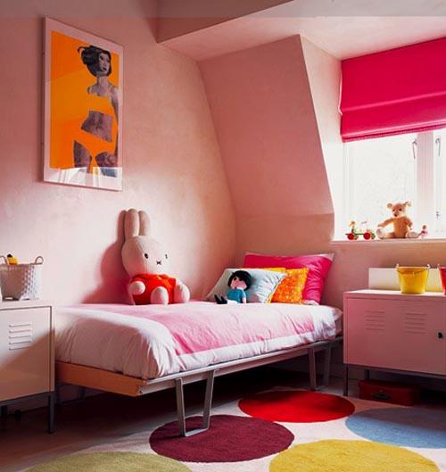 habitacion niña rosa muebles ikea