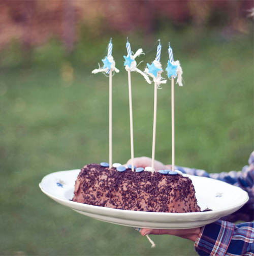 cumpleaños chocolate niños tarta fiesta vaqueros indios