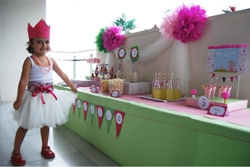Fiesta de cumplea os de princesas por pistacho - Fiestas de cumpleanos de princesas ...