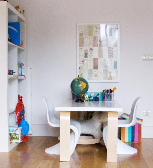 Mesas para hacer los deberes escarabajos bichos y mariposas - Sillas de estudio ikea ...