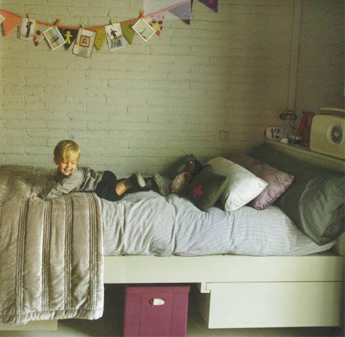 Habitaciones infantiles bonitas escarabajos bichos y - Habitaciones infantiles blancas ...